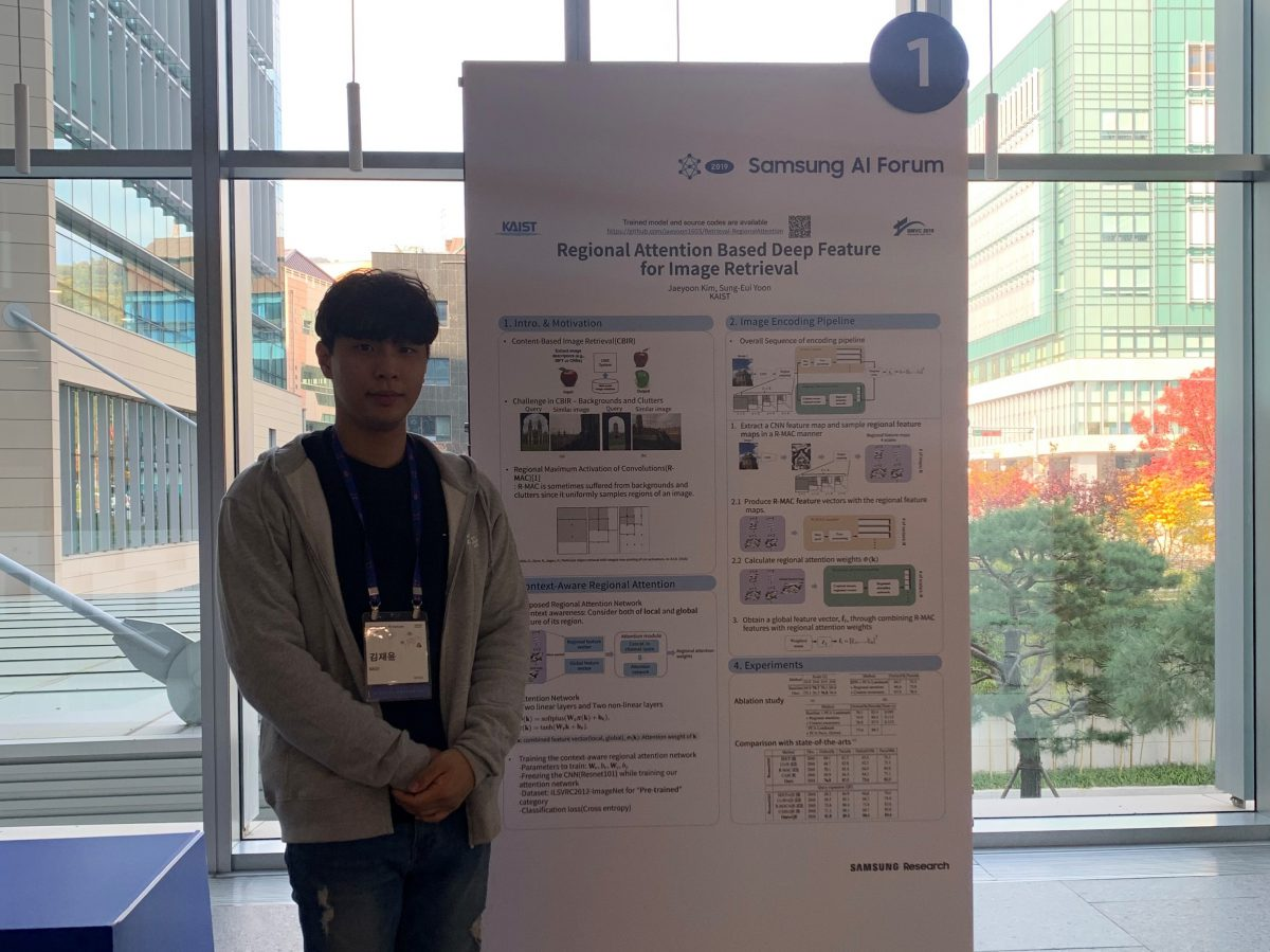 Poster at Samsung AI Forum (SAIF)